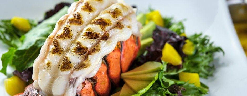 Lobster Tail Salad with Mango and Avocado